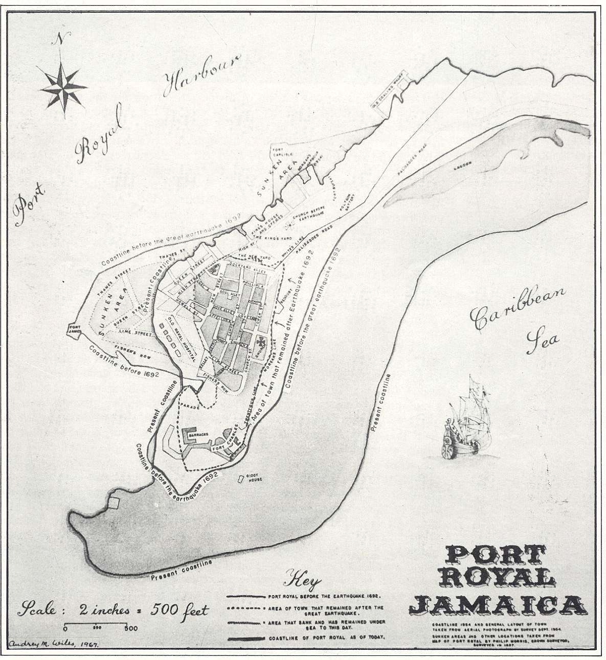Jacob Voorthuis Diary - Jamaica political map 1968